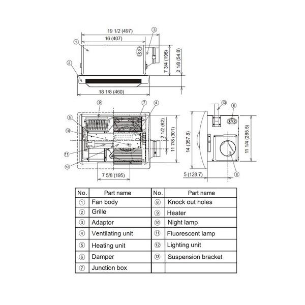 panasonic fv 11vhl2 panasonic fv 11vhl2 canoga electric supply co panasonic fv 11vhl2 wiring diagram at virtualis.co
